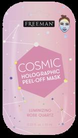 Masque Peel-Off Holographique Cosmique quartz sachet