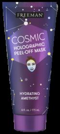 Masque hydratant  peel-off infusé avec d'Améthyste
