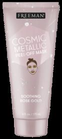 Masque Apaisant Peel off en or rose métallique