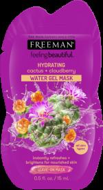 Masque Gel hydratant  au cactus + mûre en sachet