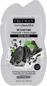 Masque au charbon et sucre noir sachet