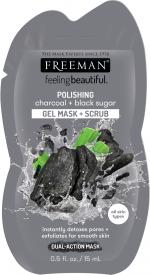 Masque& gommage 2in1 au charbon et sucre noir sachet